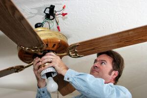 celing fan installation